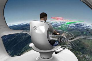 Ein-Piloten-Cockpit