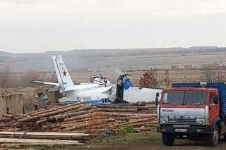 Flugunfall in Russland