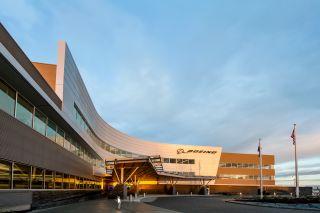 Boeing-Auslieferungszentrum Everett