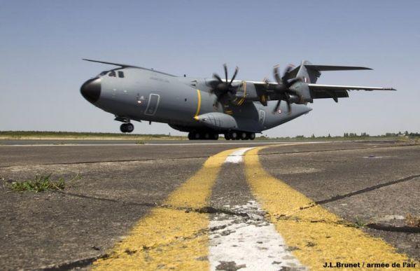 Airbus A400M der armée de l`air