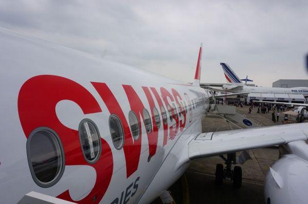 Bombardier CSeries auf der PAS15