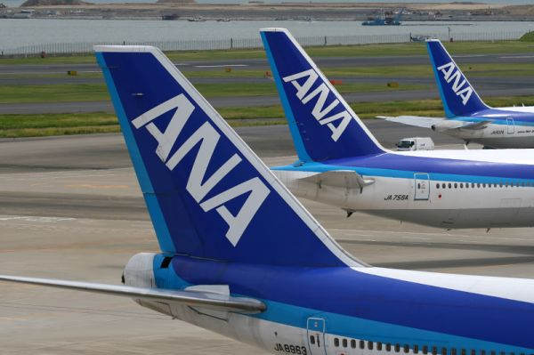 All Nippon Airways Tails