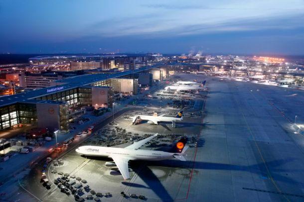 Flugsteig A-Plus am Frankfurter Flughafen