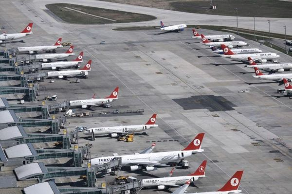 Turkish Airlines in Istanbul Atatürk