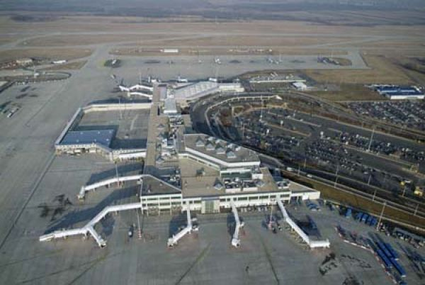 Budapest Airport Airview