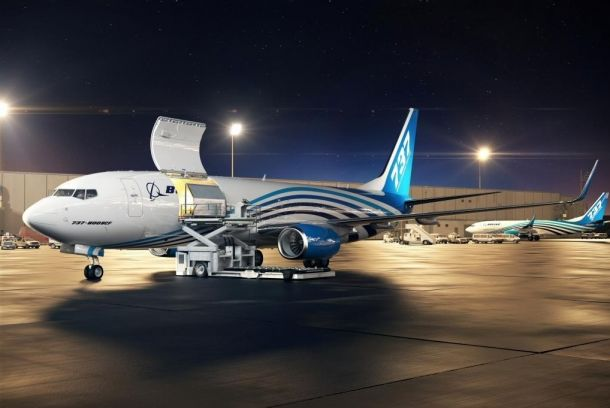 Boeing 737-800 Converted Freighter