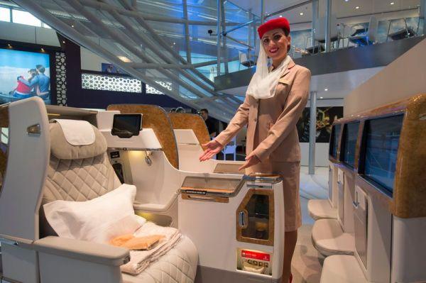Neuer Business Class Sitz von Emirates für die Boeing 777