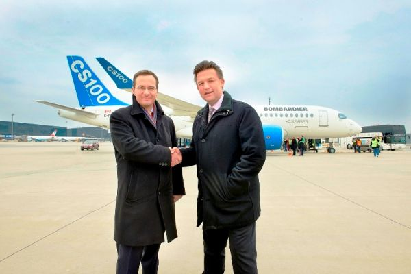 Erstlandung CS100 in Wien