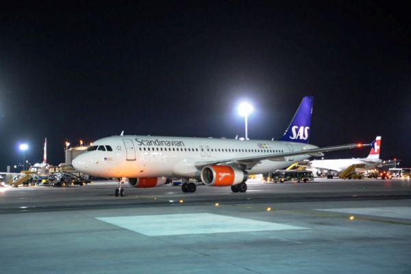 Erstflug SAS Wien