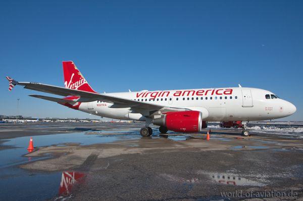 Virgin American Airbus A319