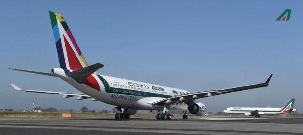 Etihad Airways stärkt Alitalia
