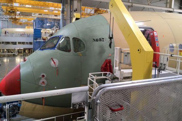 Die MSN087 wird die dritte A350 der Lufthansa