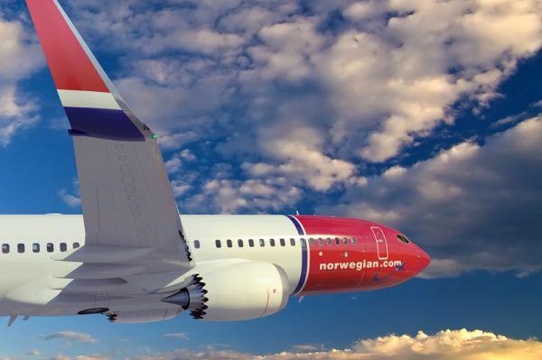 Erste 737 MAX fliegen 2017 für Norwegian über den Atlantik