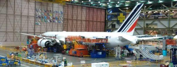 Erste Air France Boeing 787-9