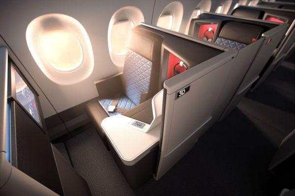 Delta One Suite - Einführung mit der ersten A350