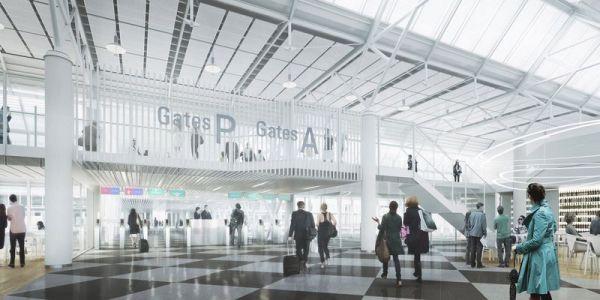 Flughafen München erweitert T1