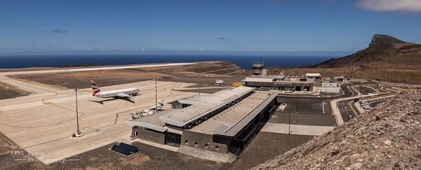 St Helena Airport HLE