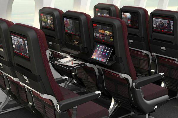 Qantas Boeing 787-9 Economy Class