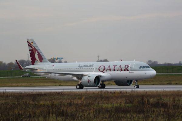 Qatar Airways Airbus A320neo