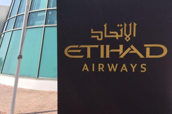 Etihad Airways in Abu Dhabi