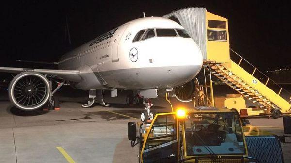Fünfter Lufthansa Airbus A320neo D-AINE