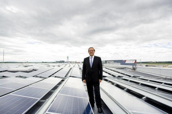 Photovoltaik am VIE