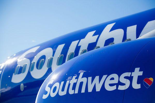 Southwest Boeing 737 in neuem Look