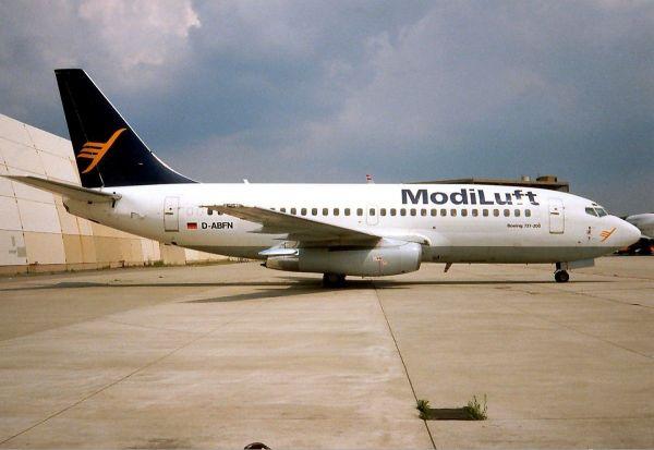 ModiLuft Boeing 737-200