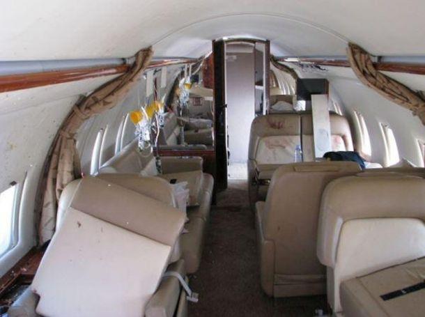 Challenger 604 nach Turbulenzen