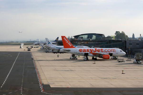 Vorfeld am Flughafen Dortmund