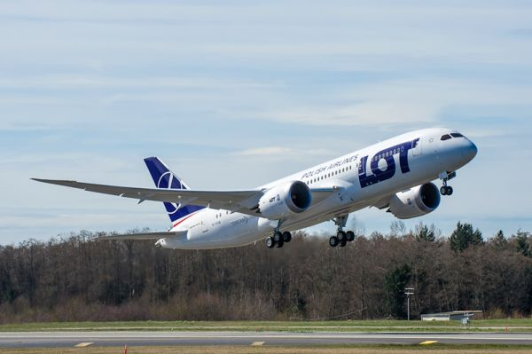 LOT Polish Airlines Boeing 787