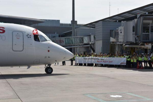 Swiss verschiedet ihren letzten Avro