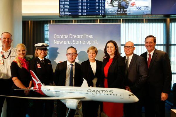 Qantas stationiert vier Boeing 787-9 in Brisbane