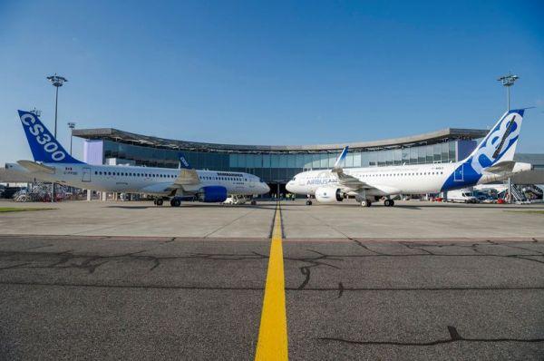 Bombardier CS300 und Airbus A320neo
