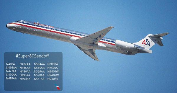 American verabschiedet 20 MD-80