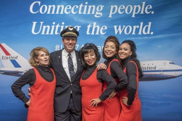 United Airlines Boeing 747 Abschiedsflug