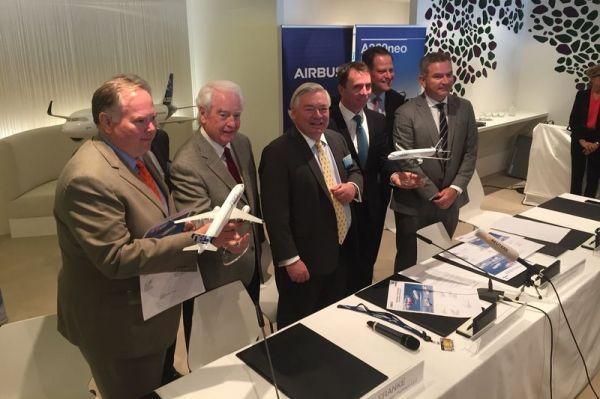 Airbus und Indigo Partners: Megadeal auf der DAS17
