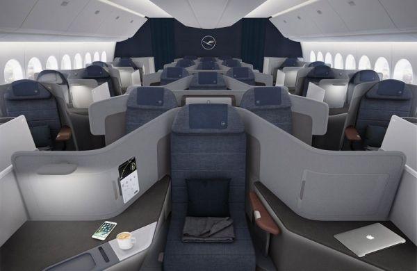 Neue Lufthansa Business Class