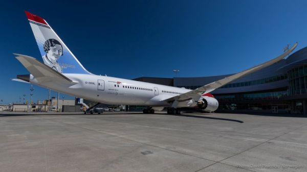 Der Boeing 787 Dreamliner, mit dem Norwegian Air einen Rekordflug über den Atlantik geschafft hat