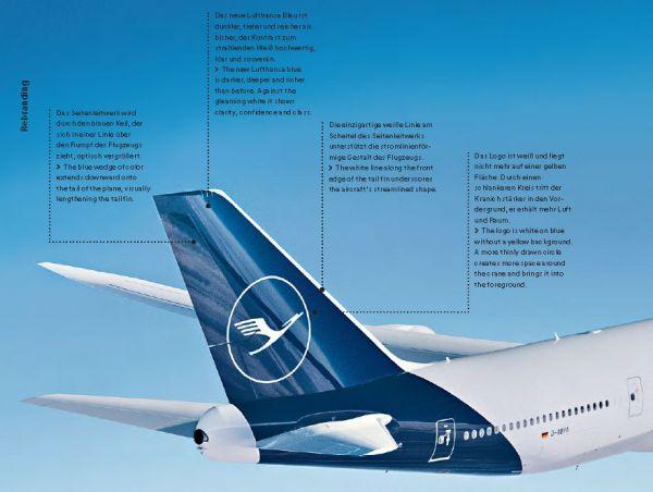Das neue Markenbild der Lufthansa