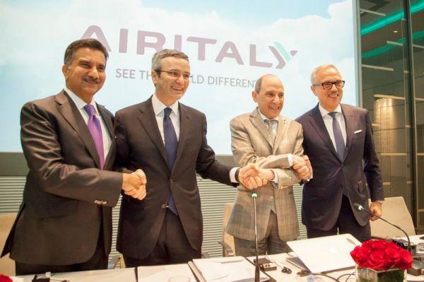 Qatar Airways gehören 49 Prozent von Air Italy