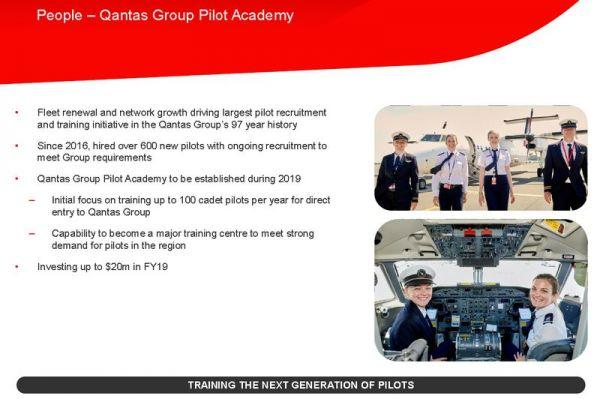 Qantas Flugschule