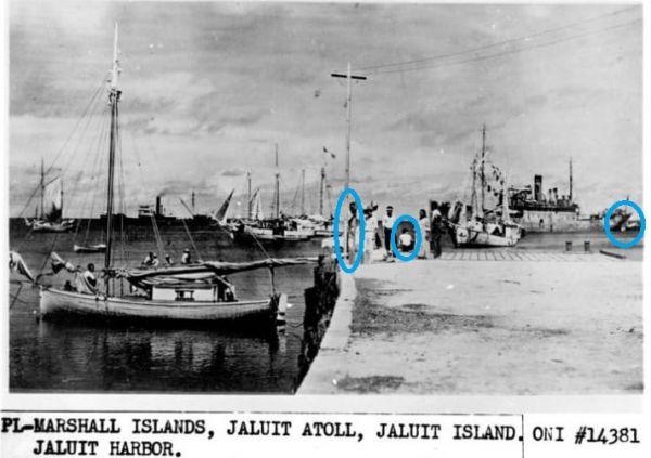 Zeigt dieses Bild Amelia Earhart und Fred Noonan auf den Marshall Islands?