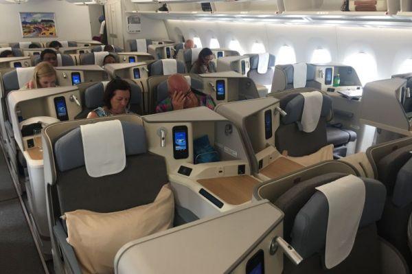 Air Mauritius Airbus A350-900 Business Class