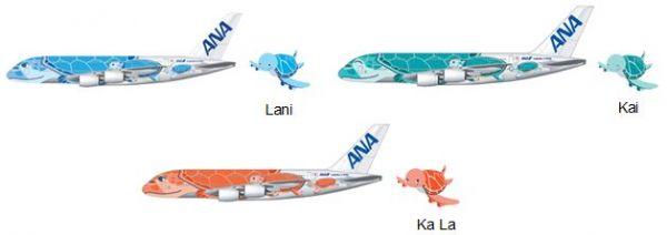 All Nippon Airways erwartet drei Airbus A380