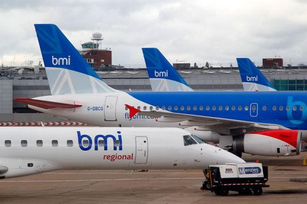 BMI regional Embraer 145