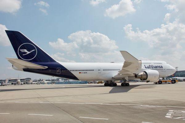 Lufthansa realisiertes Markenbild