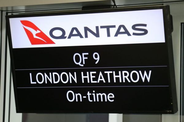 Qantas Ultralangstrecke