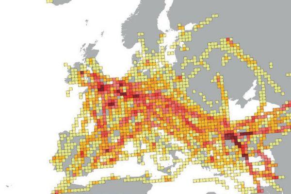Eurocontrol: Europäische Staukarte 2040