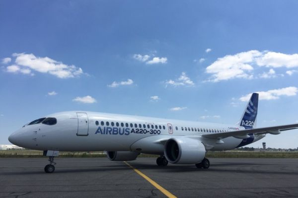 Bombardier CSeries wird zu Airbus A220